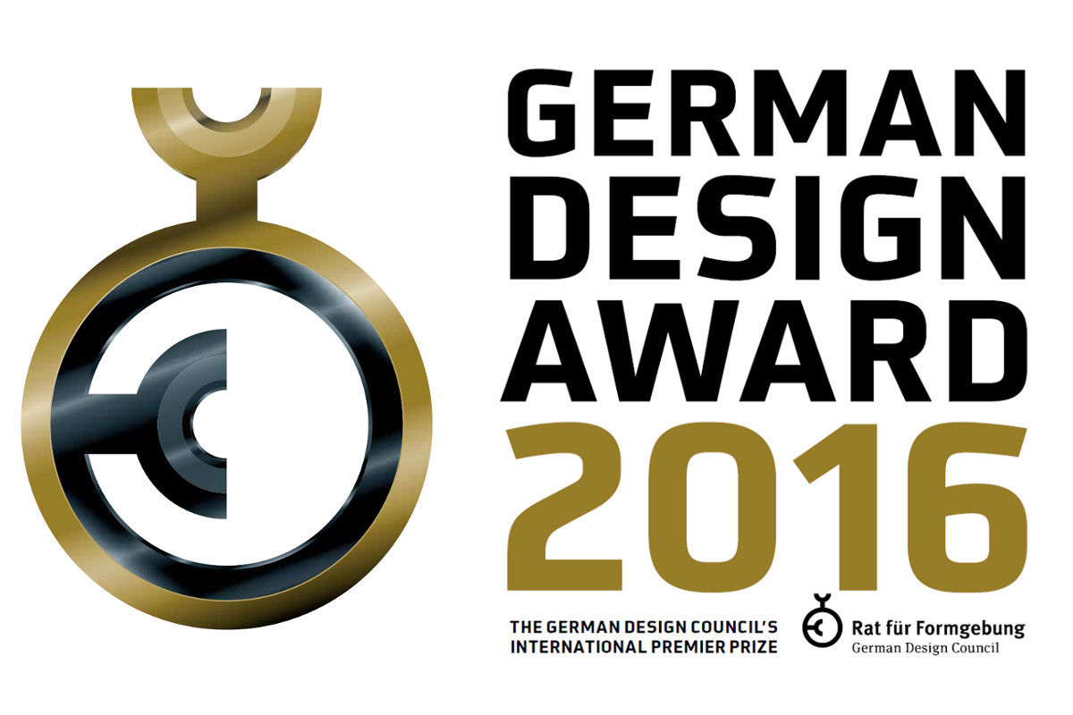German Design Award 2016 – Nominee