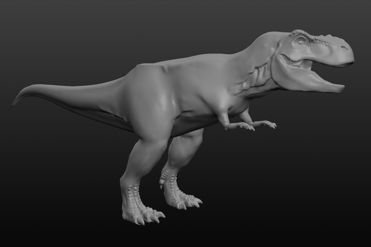 Sculptris T-Rex