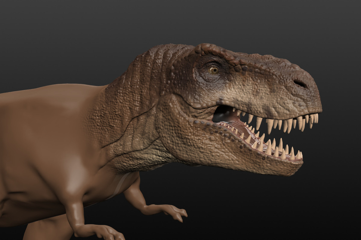 Sculptris T-Rex01