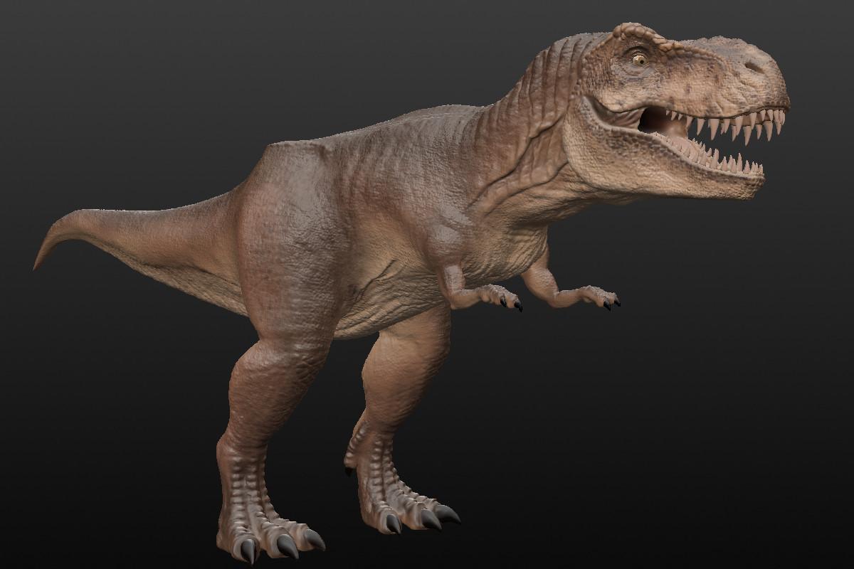 Sculptris T-Rex02