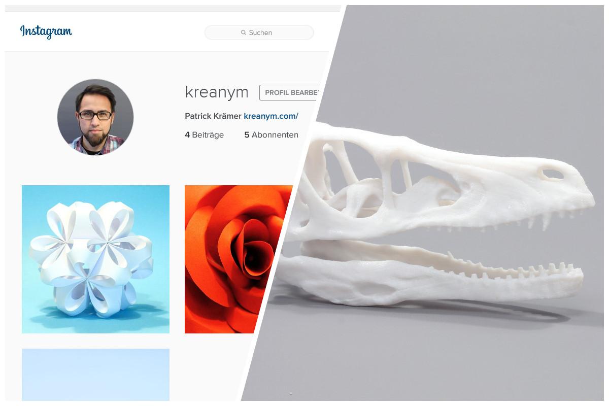 Der Montag danach: Jetzt bei Instagram und Ergebnisse vom 3D Druck