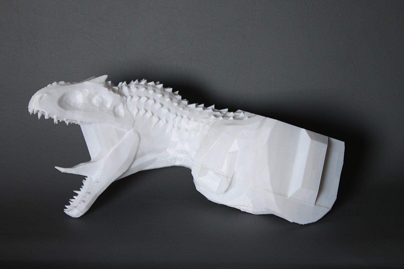 Indominus Rex Figur im 3D Druck