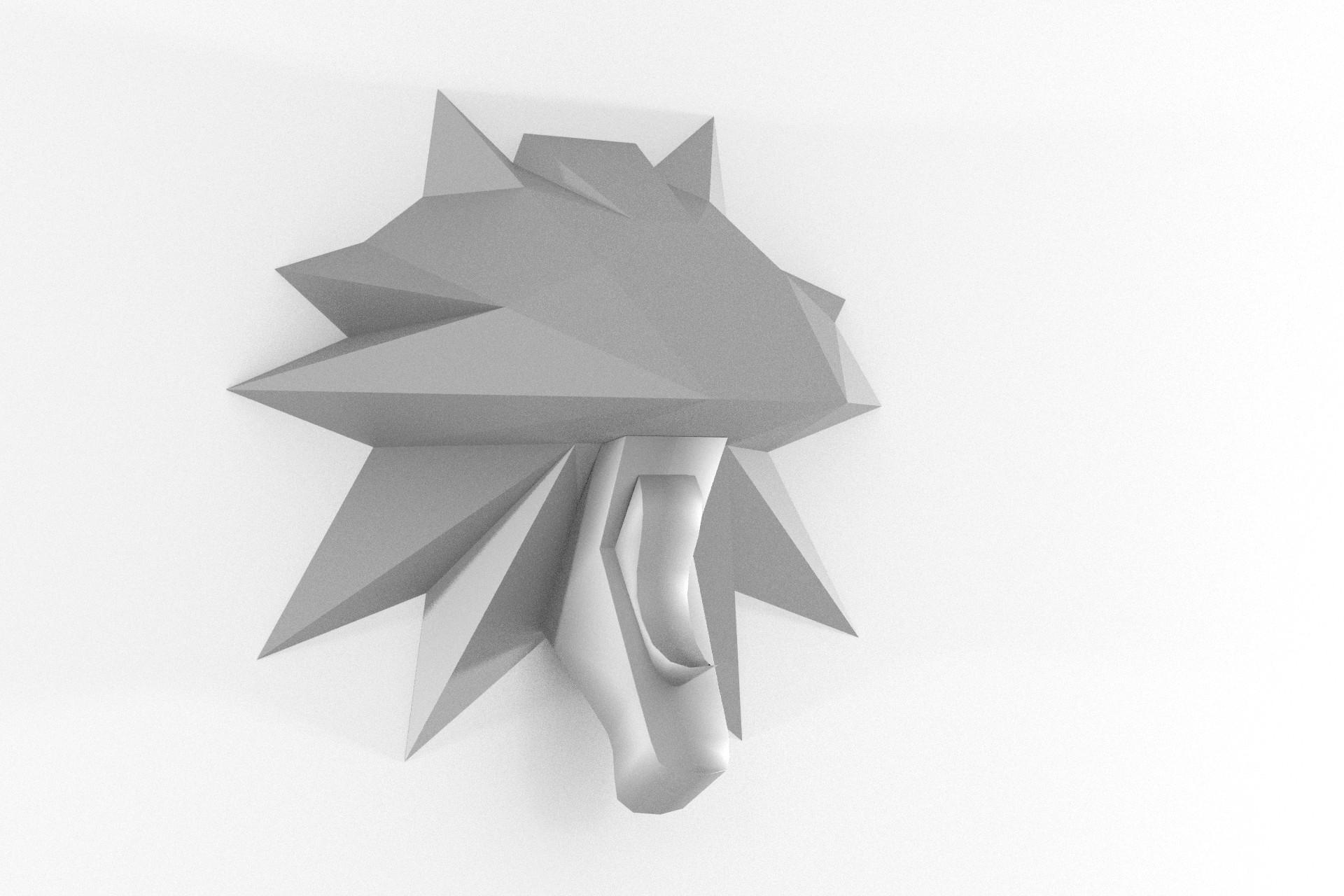 Wolf Wandtrophäe – Teil 2