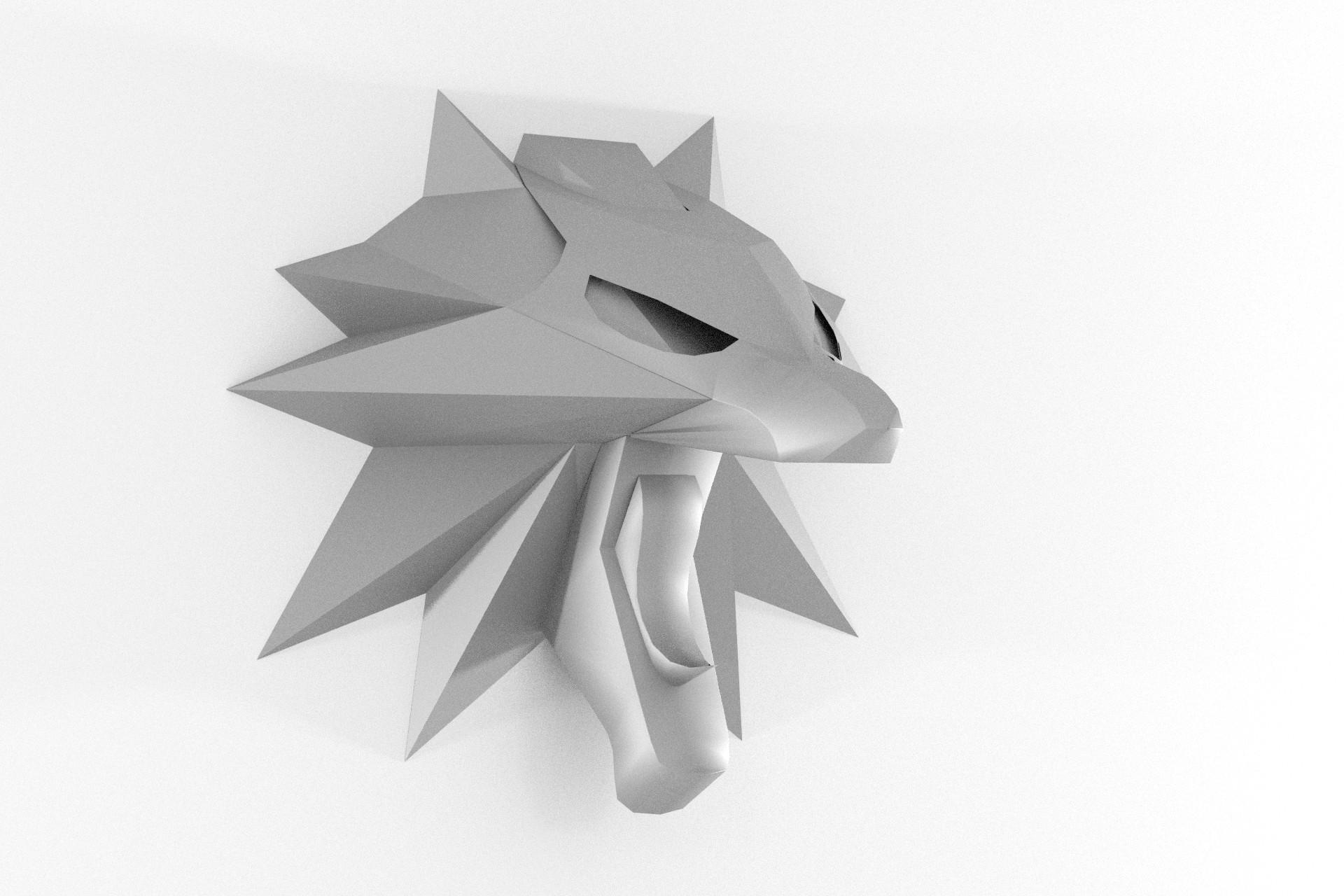 Wolf Wandtrophäe – Teil 3